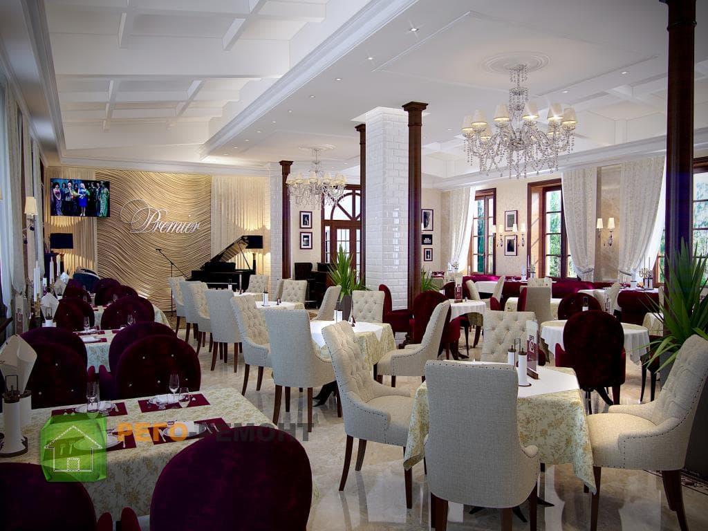 Выбор стиля для ресторана - art-domru